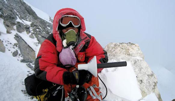 Vislink provided Sat Coms for the 2016 science team that climbed Everest