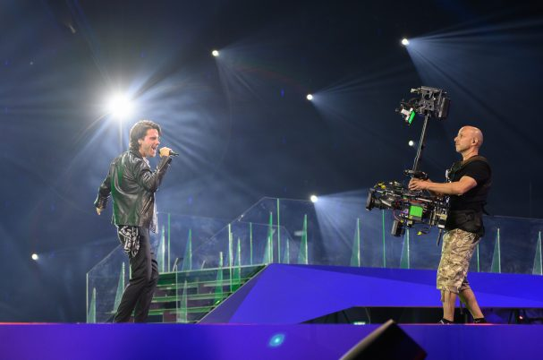 Vislink at one of the biggest music events in the World, using H.264 Clip-On4's in ISDB-T into an MDR System