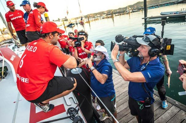 Vislink provided the broadcast technology for the 2018 Volvo Ocean Race