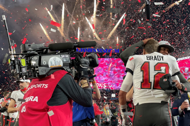 Vislink provided the broadcast technology for the 2021 Superbowl